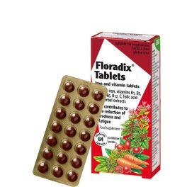 Power Health Floradix Iron Συμπλήρωμα Διατροφής 84 Ταμπλέτες