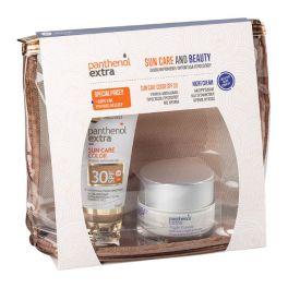 Panthenol Extra Set Με Sun Care Αντηλιακό Τζελ Προσώπου Με Χρώμα Spf30 50ml & Αντιρυτιδική & Συσφικτική Κρέμα Νυκτός 50ml & Δώρο Ένα Υπέροχο Νεσεσέρ