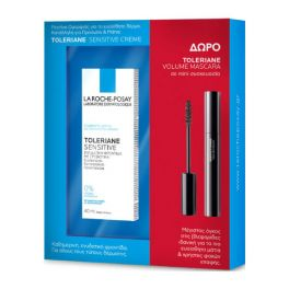 La Roche-Posay Set Με Toleriane Sensitive Κρέμα Ενυδάτωσης Προσώπου Για Ευαίσθητο Δέρμα 40ml  & Δώρο Μίνι Toleriane Volume Mascara
