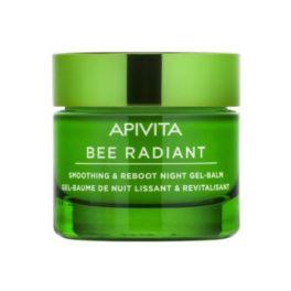 Apivita Bee Radiant Gel-Balm Προσώπου Νυκτός Για Λείανση & Αναζωογόνηση 50ml
