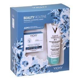 Vichy Beauty Routine Set Με Aqualia Thermal Ενυδατική Κρέμα-Τζελ Προσώπου Για Ευαίσθητο & Μικτό Δέρμα 50ml & Δώρο Purete Thermale Γαλάκτωμα Καθαρισμού 3 Σε 1 100ml