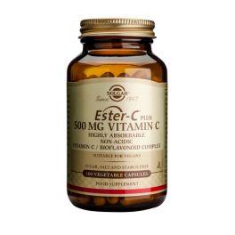 Solgar Ester-C Plus 500mg Vitamin C Βιταμίνες 100 Veg. Caps