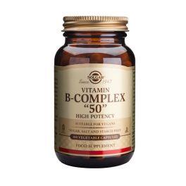 "Solgar Vitamin B-Complex ""50"" High Potency Βιταμίνες 100 Veg. Caps"