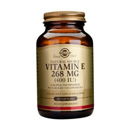 Solgar Vitamin E 268mg 400IU Βιταμίνες 100 Softgels