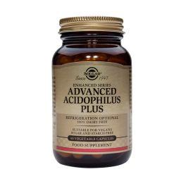 Solgar Andvanced Acidophilus Plus Προβιοτικά 60 Veg. Caps