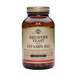 Solgar Brewer's Yeast With Vitamin B12 Σούπερ Τροφές 250 Tabs