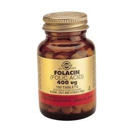 Solgar Folacin (Folic Acid) 400mcg Βιταμίνες 100 Tabs
