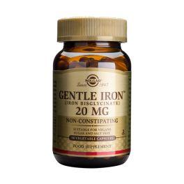 Solgar Gentle Iron 20mg Non-Constipating Μέταλλα-Ιχνοστοιχεία 90 Veg. Caps