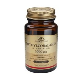 Solgar Methylcobalamin (Vitamin B12) 1000mcg Βιταμίνες 30 Nuggets