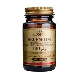 Solgar Selenium 100mcg Μέταλλα-Ιχνοστοιχεία 100 Tabs