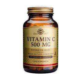 Solgar Vitamin C 500mg Βιταμίνες 100 Veg. Caps