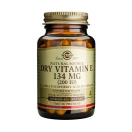 Solgar Dry Vitamin E 134mg 200IU Βιταμίνες 50 Veg. Caps