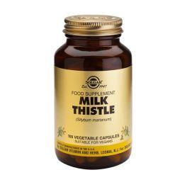 Solgar Milk Thistle (Silybum marianum) Φυτικά Εκχυλίσματα 100 Veg. Caps