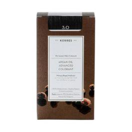 Korres Argan Oil Advanced Colorant 3.0 Καστανό Σκούρο Φυσικό