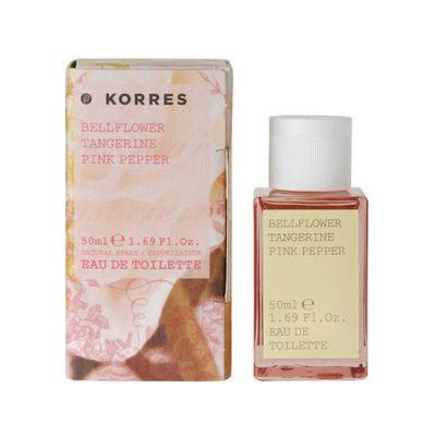 Korres Κολόνια Bellflower / Tangerine / Pink Pepper Eau de Toilette 50ml