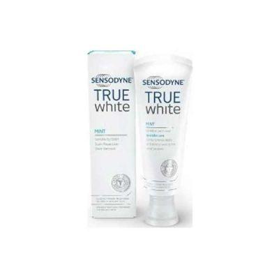 Sensodyne True White Μέντα Οδοντόκρεμα Λεύκανσης Για Ευαίσθητα Δόντια 75ml