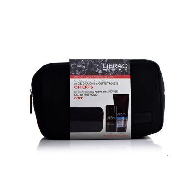Lierac Set Homme Premium Κρέμα Προσώπου, Αφρόλουτρο & Νεσεσέρ