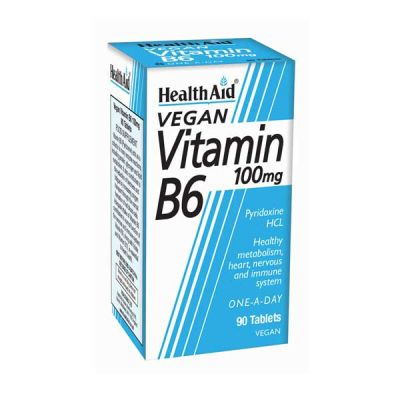 Health Aid B6 Vitamin 100mg 90 ταμπλέτες