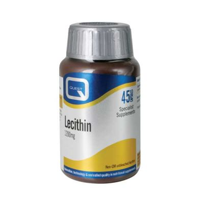 Quest Lecithin 1200mg 45 Κάψουλες