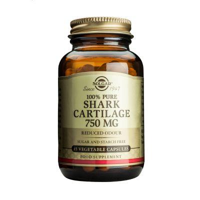 Solgar 100% Pure Shark Cartilage 750mg Reduced Odour 45 Veg Caps