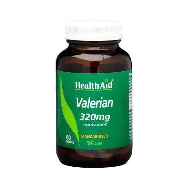 Health Aid Valerian 320mg 60 ταμπλέτες