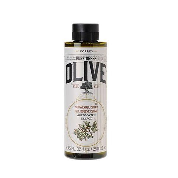 Korres Olive Αφρόλουτρο Κέδρος 250ml