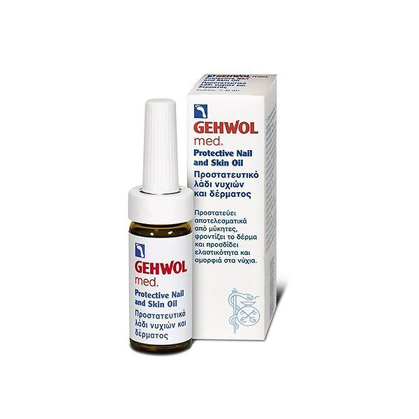 Gehwol Med Προστατευτικό Λάδι Με Αντιμυκητιασική Δράση Για Νύχια Και Δέρμα 15ml