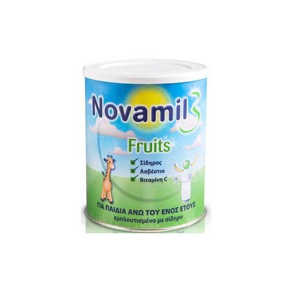 Novalac Novamil 3 Fruits 800gr