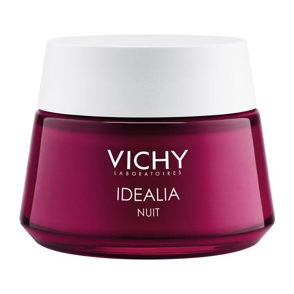 Vichy Idealia Κρέμα Προσώπου Νύχτας Για Τις Πρώτες Ρυτίδες Για Όλες Τις Επιδερμίδες 50ml