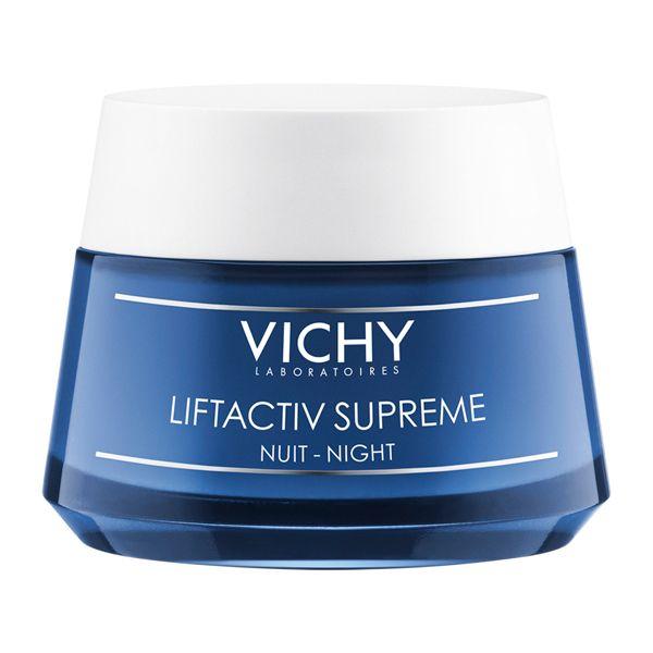 Vichy Liftactiv Supreme Κρέμα Προσώπου Νύχτας Αντιγήρανσης & Ανόρθωσης 50ml
