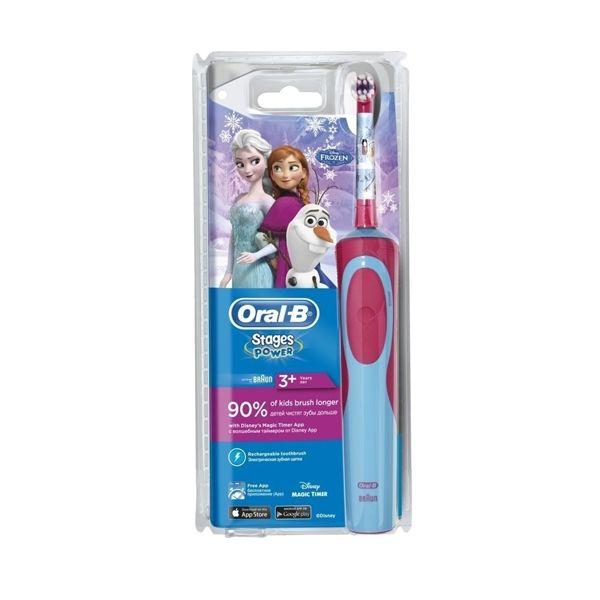 Oral-B Stages Power Disney Frozen Παιδική Ηλεκτρική Οδοντόβουρτσα 3+