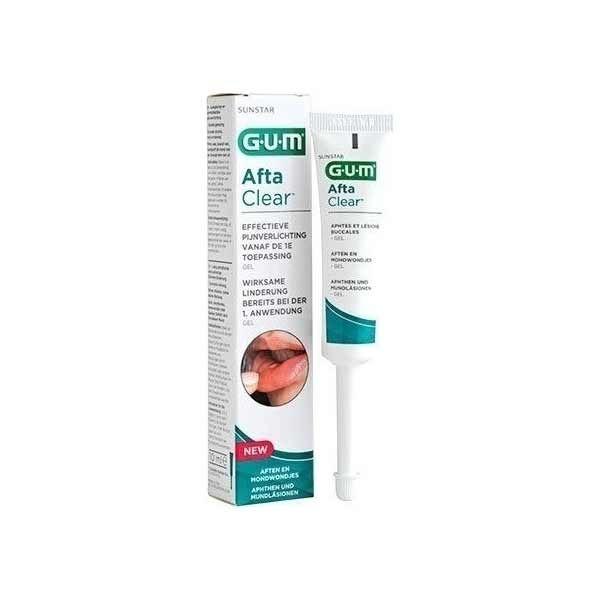 Gum Afta Clear Τζελ Για Τα Στοματικά Έλκη 10ml