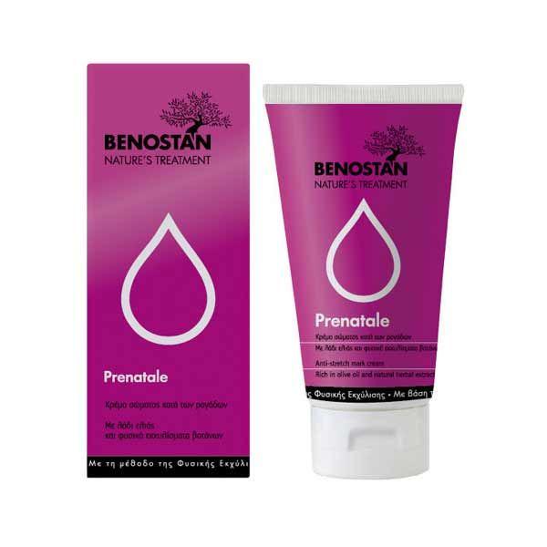Benostan Prenatal Κρέμα Σώματος Για Την Πρόληψη Των Ραγάδων 150ml