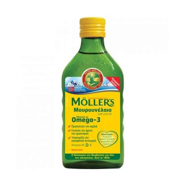 Moller's Natural Μουρουνέλαιο 250ml