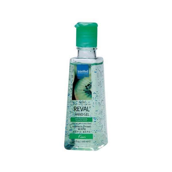Intermed Reval Καθαριστικό & Αντιμικροβιακό Τζελ Kiwi 100ml