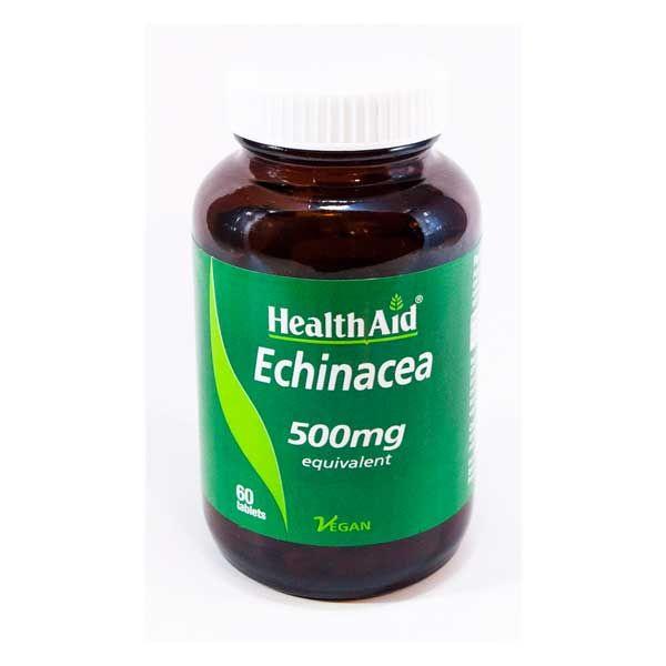 Health Aid Echinacea 500mg Vegan 60 Ταμπλέτες