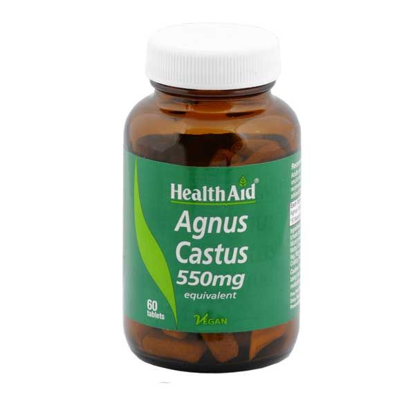 Health Aid Agnus Castus 550mg Vegan 60 Ταμπλέτες