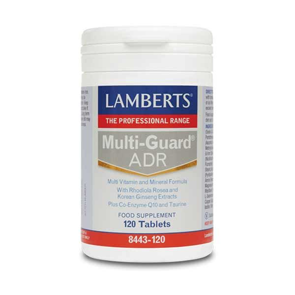 Lamberts Multi-Guard ADR Συμπλήρωμα Διατροφής 120 Ταμπλέτες