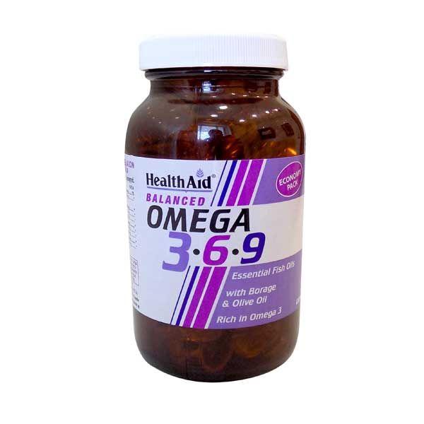 Health Aid Omega 3-6-9 Ω3 Λιπαρά Οξέα 90 Κάψουλες