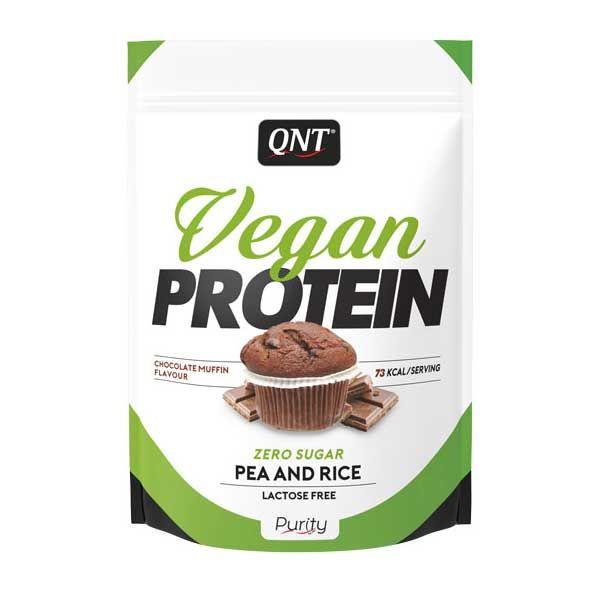 QNT Vegan Protein Ρόφημα Πρωτεΐνης Με Γεύση Chocolate Muffin 20g