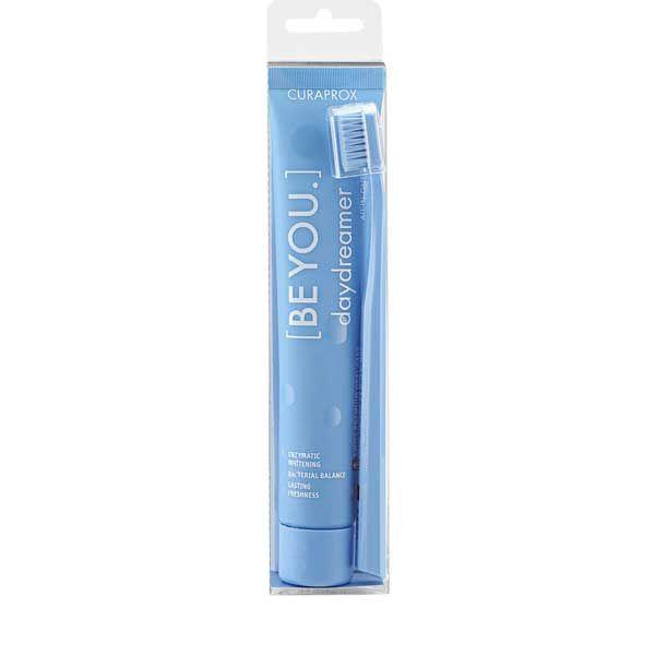 Curaprox Be You Daydreamer Οδοντόκρεμα Ολικής Προστασίας & Λεύκανσης Με Γεύση Βατόμουρο-Γλυκόριζα 90ml & Οδοντόβουρτσα