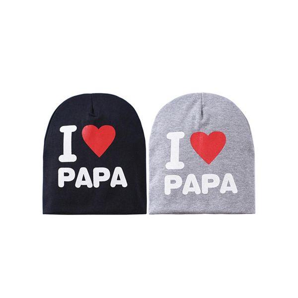"Mama-Baby Care Παιδικό Σκουφάκι ""I Love Papa"""
