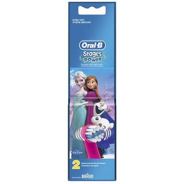Oral-B Stages Power Frozen Ανταλλακτικά Ηλεκτρικής Οδοντόβουρτσας 2τμχ
