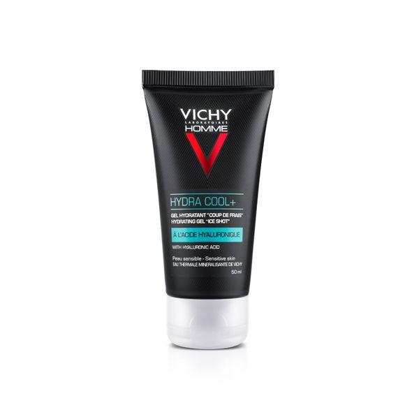 Vichy Homme Hydra Cool+ Ενυδατικό Τζελ Με Υαλουρονικό Οξύ Για Πρόσωπο & Μάτια 50ml