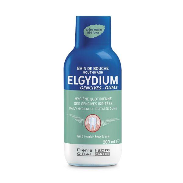 Elgydium Gums Στοματικό Διάλυμα Για Προστασία & Καταπράυνση Των Ερεθισμένων Ούλων 300ml