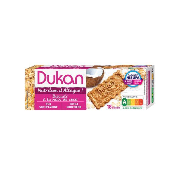 Dukan Μπισκότα Βρώμης Με Γεύση Καρύδα 225g