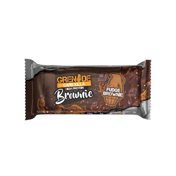 Grenade Carb Killa Μπάρα Υψηλής Πρωτεΐνης Brownie 60g