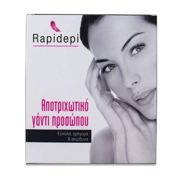 Rapidepi Αποτριχωτικό Γάντι Προσώπου