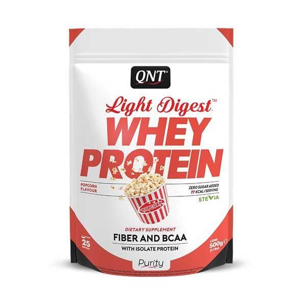 QNT Light Digest Whey Protein Η Νέα Γενιά Πρωτεΐνης Με Γεύση Sweet Popcorn 500g