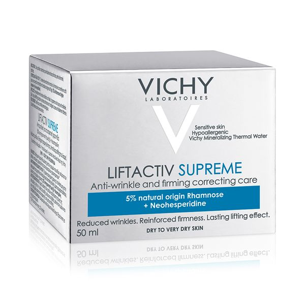 Vichy Liftactiv Supreme Κρέμα Ημέρας Αντιγήρανσης & Ανόρθωσης Για Ξηρό/Πολύ Ξηρό Δέρμα 50ml